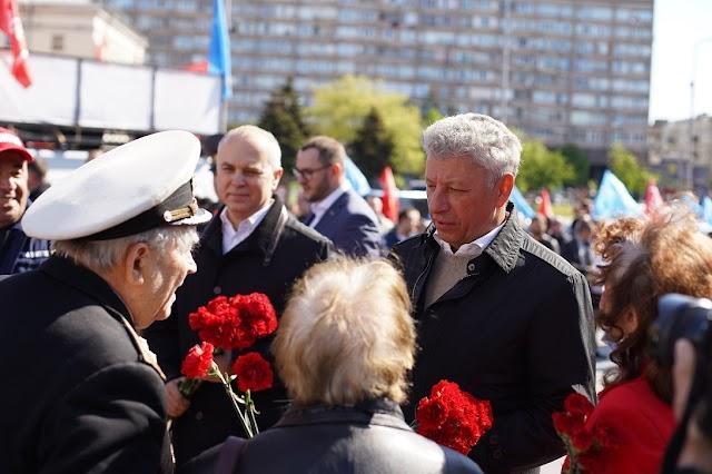 Юрій Бойко: День Перемоги – це всенародне свято, і сьогоднішнє 9 Травня це підтвердило