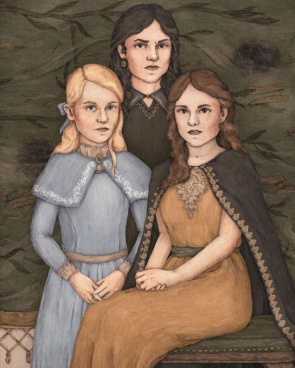 Andrômeda, Narcisa e Belatriz - Um conto de Três Irmãs