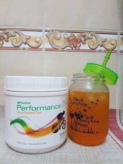 Perbezaan Performance Drink Shaklee Lemon-Lime Orange