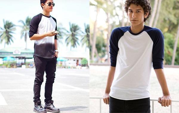Macho Moda - Blog de Moda Masculina  Camisetas Raglan (Camiseta ... 8b00943fa56cd