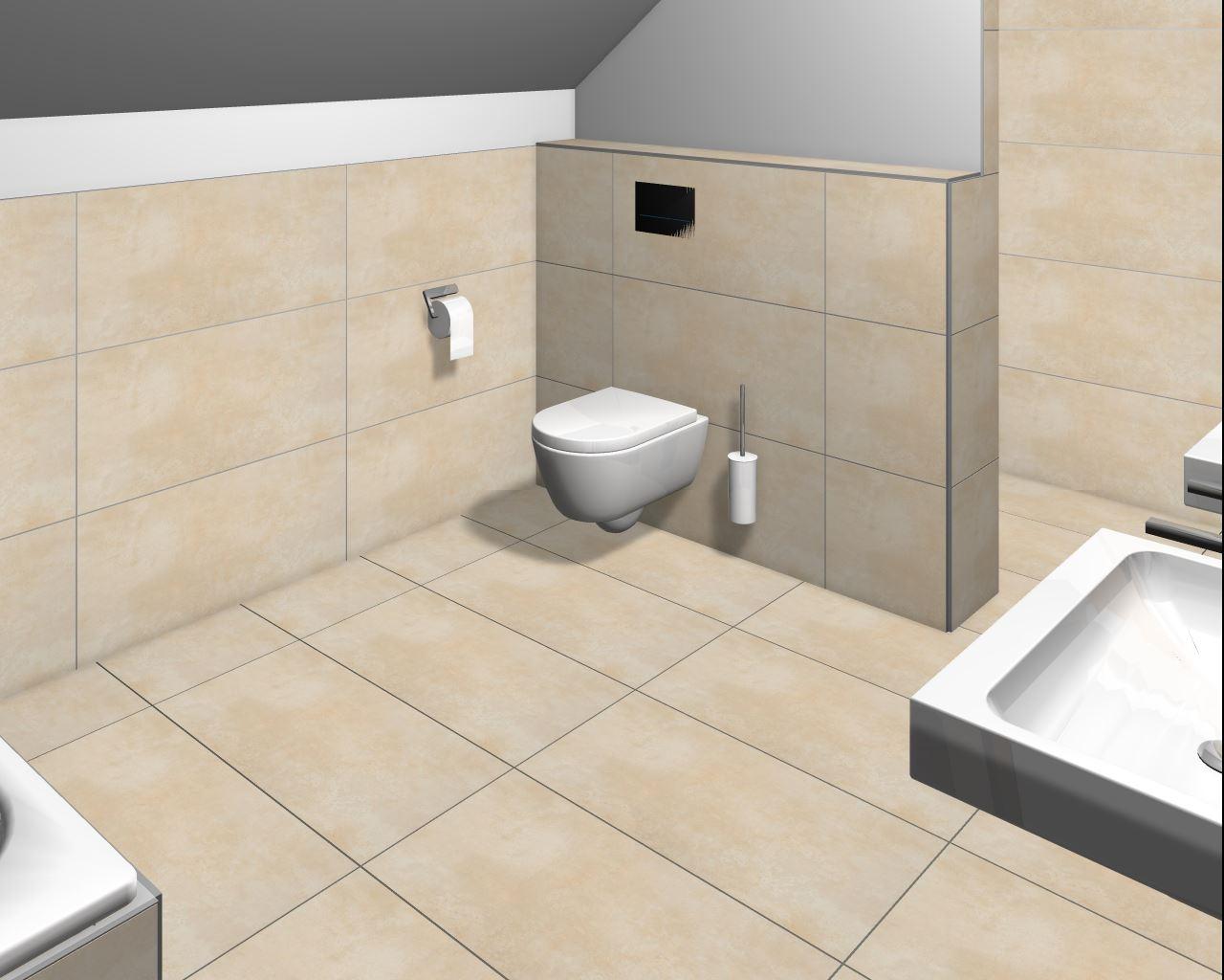 Hausbau niederzier mit 4life: badimpressionen
