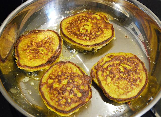 Pancakes aux courgettes et carottes