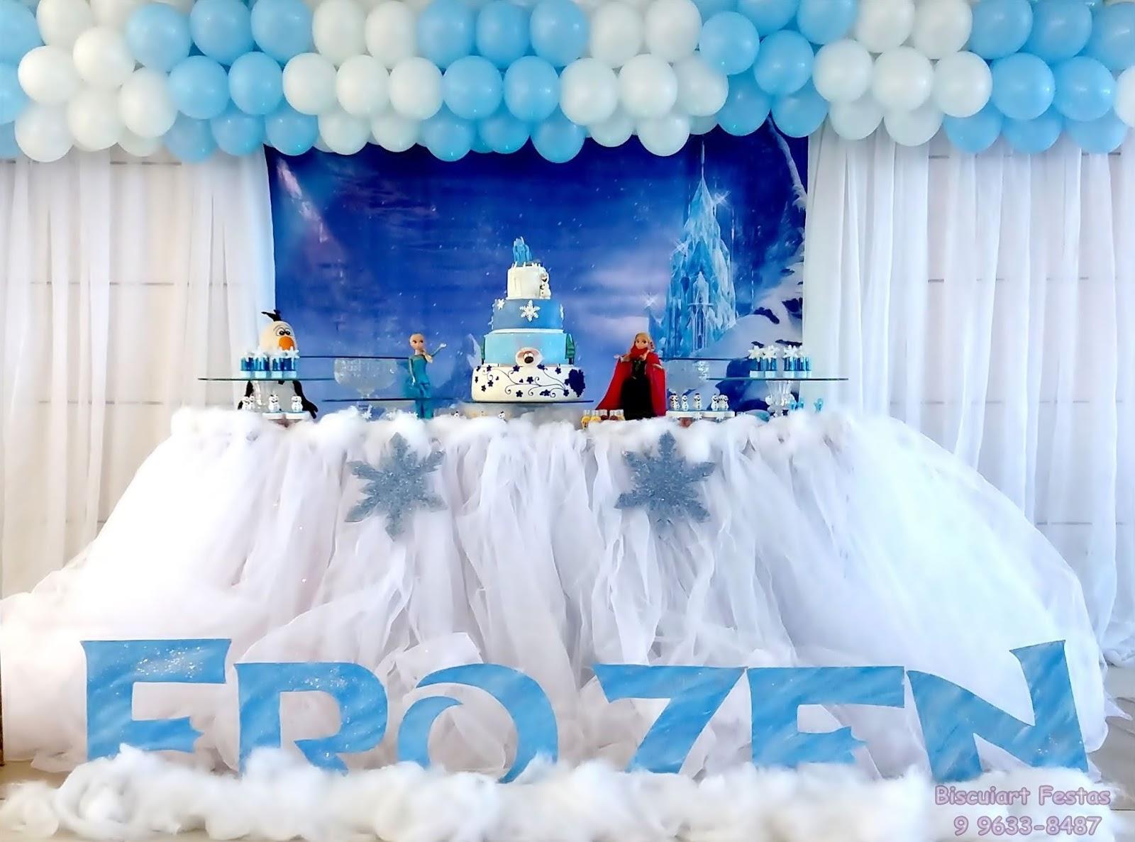 Biscuiart Festas Lembrancinhas Frozen Centros De Mesa Frozen