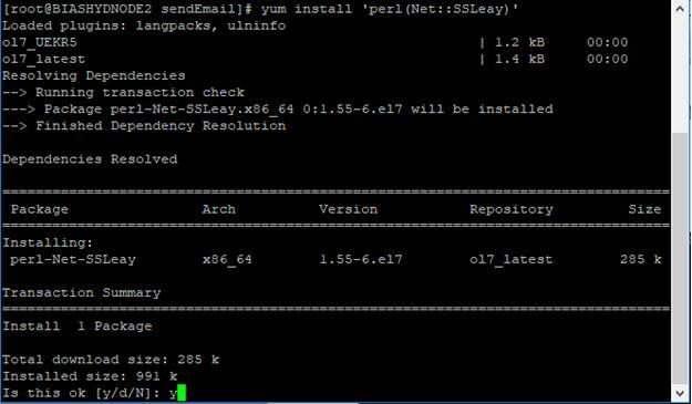 INSTALLATION DOCUMENTS BY RAVI: sendEmail[18533]: ERROR => No TLS