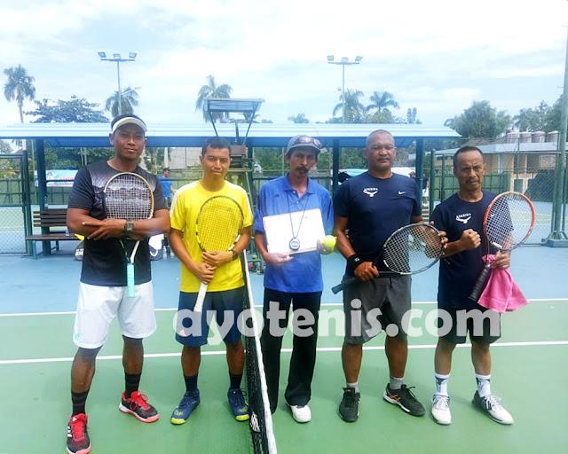 Tenis Pornas Korpri: Ahmad Puryani/Adi Setiawan Melaju ke Perempat Final