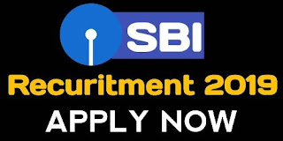SBI Recuritment For Specialist Cadre Officers Post 2019