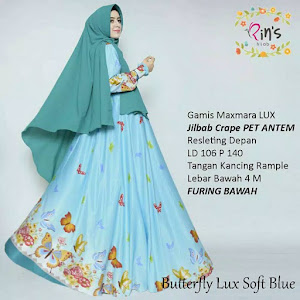 Gamis Maxmara Lux Butterfly Lux