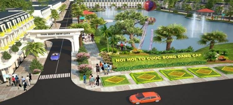 Hình ảnh tiện ích dự án khu đô thị new city thái bình