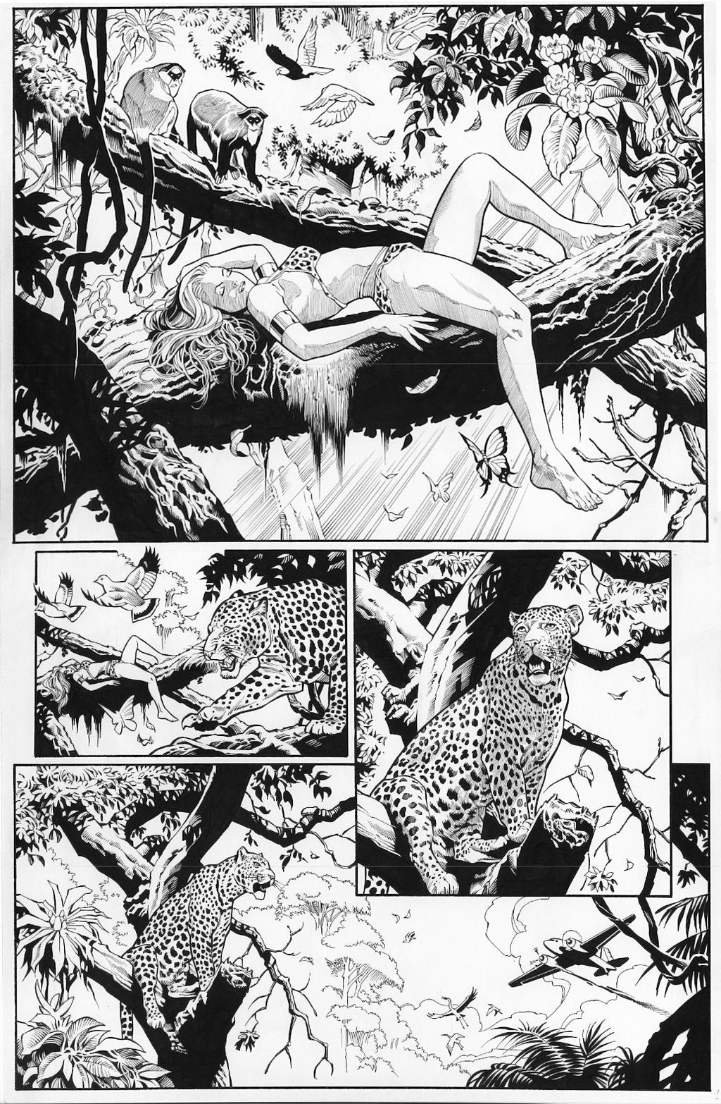 Sheena inspired a wealth of similar comic book jungle queens.