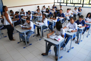 Aulas no Ensino Médio