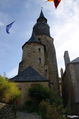 La Torre dell'Orologio nel centro di Dinan