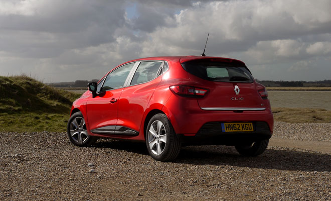 Renault Clio Eco rear view