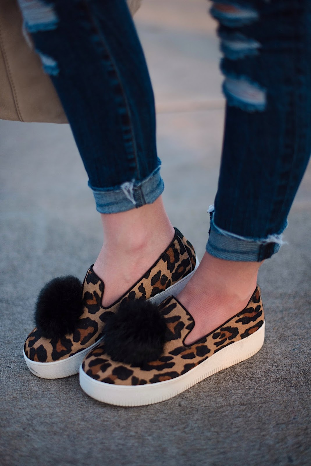Leopard Sneakers - Something Delightful Blog