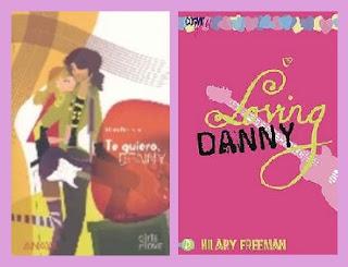portadas del libro  Te quiero, Danny, de Hilary Freeman