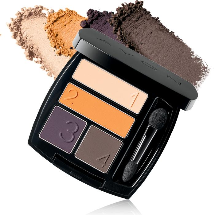 Complete your matte look with Avon True Color Matte Eyeshadow Quad $8.00