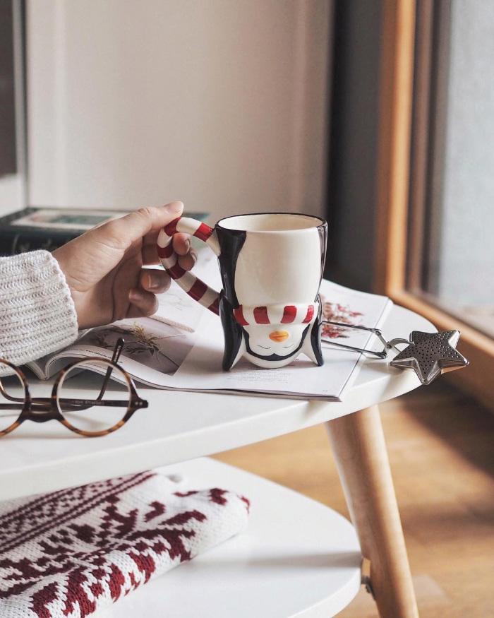 Sélection de mugs pour Noël et cet hiver