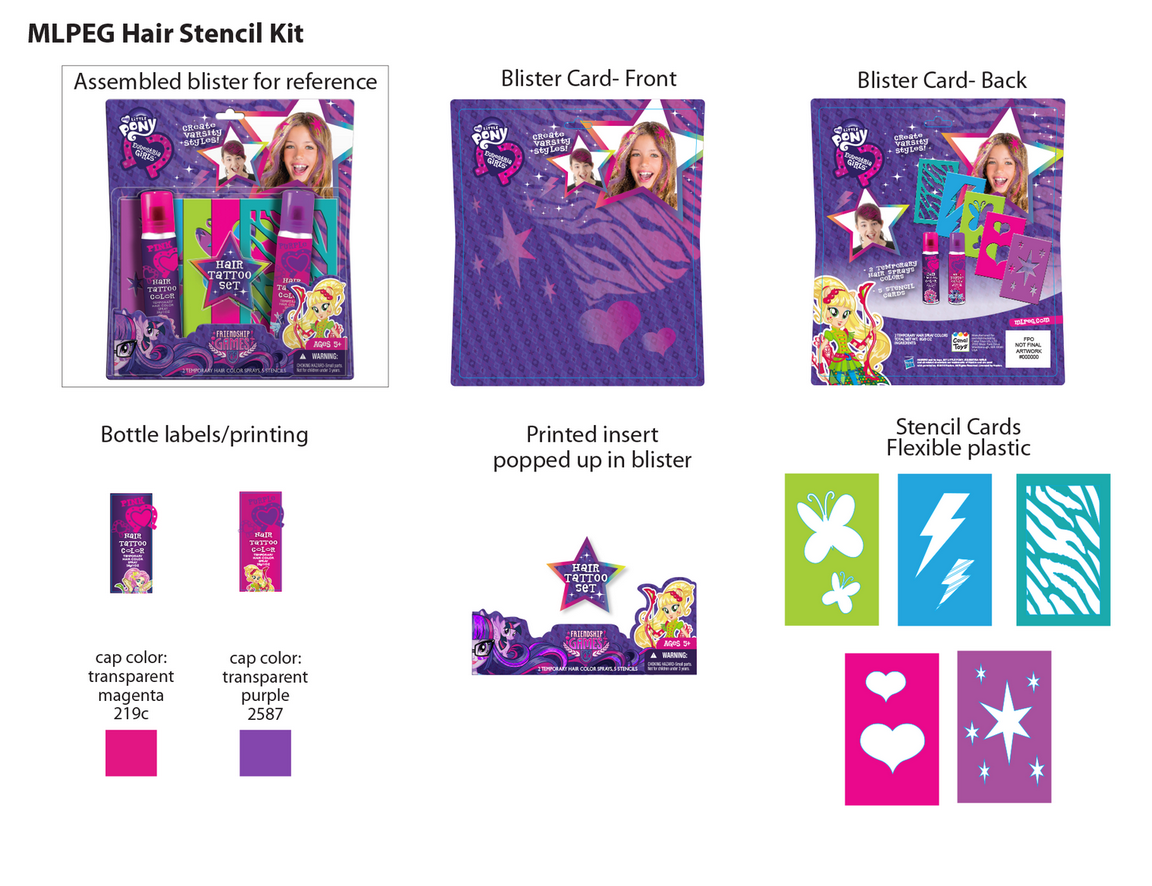 Equestria Girls 3 Friendship Games Packaging