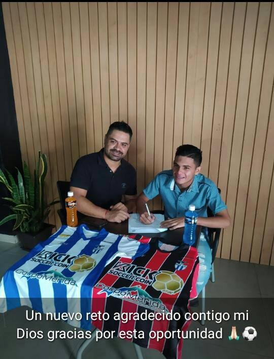APURE: Alto Apureño Matheo Santos firma con equipo de 2da Futven de ULA