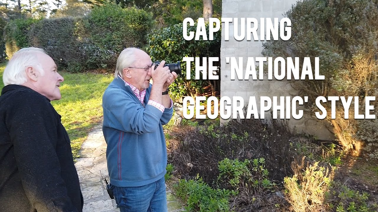 Lighting & Composition Tips with Bob Holmes: How to Capture that 'National Geographic Style'