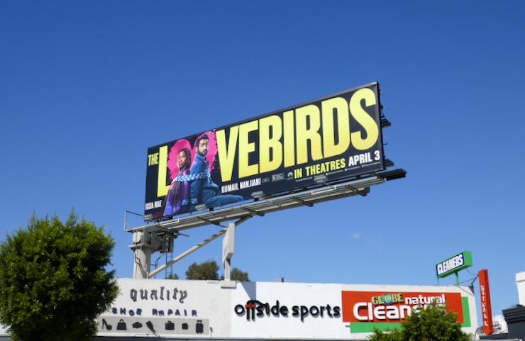 Lovebirds film billboard