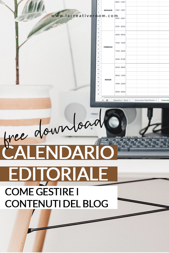 Calendario Editoriale: come gestire i contenuti del blog.