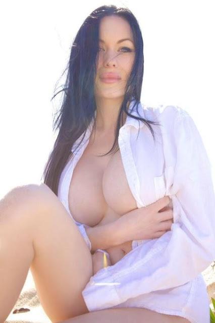 Hot girls Verónica Black sexy big breasts Fan David Beckham 3