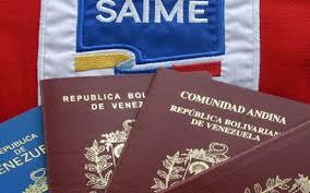 Saime  informó  activación del proceso de impresión de los pasaportes y prórrogas