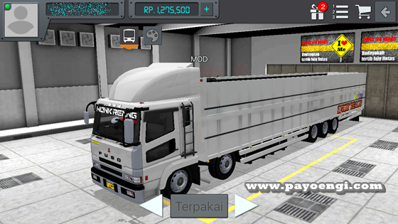 livery mod fuso sg tribal wsp wr truck 3