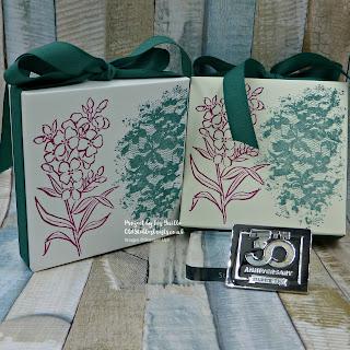 Envelope Punch Board Southern Serenade Ribbon Gift Box