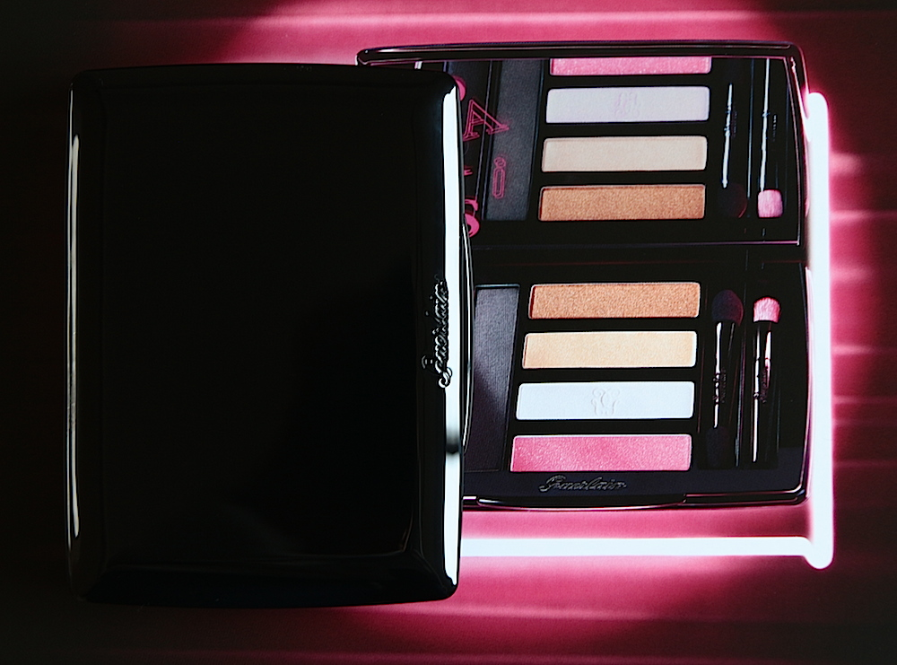 guerlain palette crazy paris collection noel 2013 swatch test avis