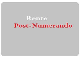 Nilai Tunai Rente Post-numerando