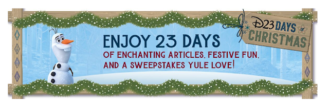 D23 will be bringing holly, jolly, and magic this holiday season with daily giveaways that'll make all your wishes come true! Enter to win Disney prizes!