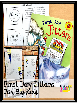 Using First Day Jitters in upper grades