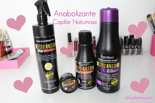 anabolizante capilar natumaxx, natumaxx, vivy rodrigues, blog da vivy