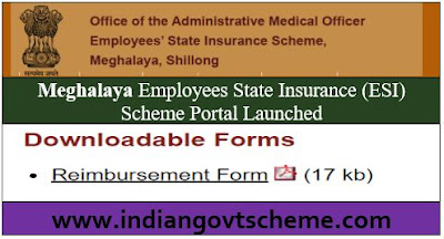 Meghalaya Employees State Insurance