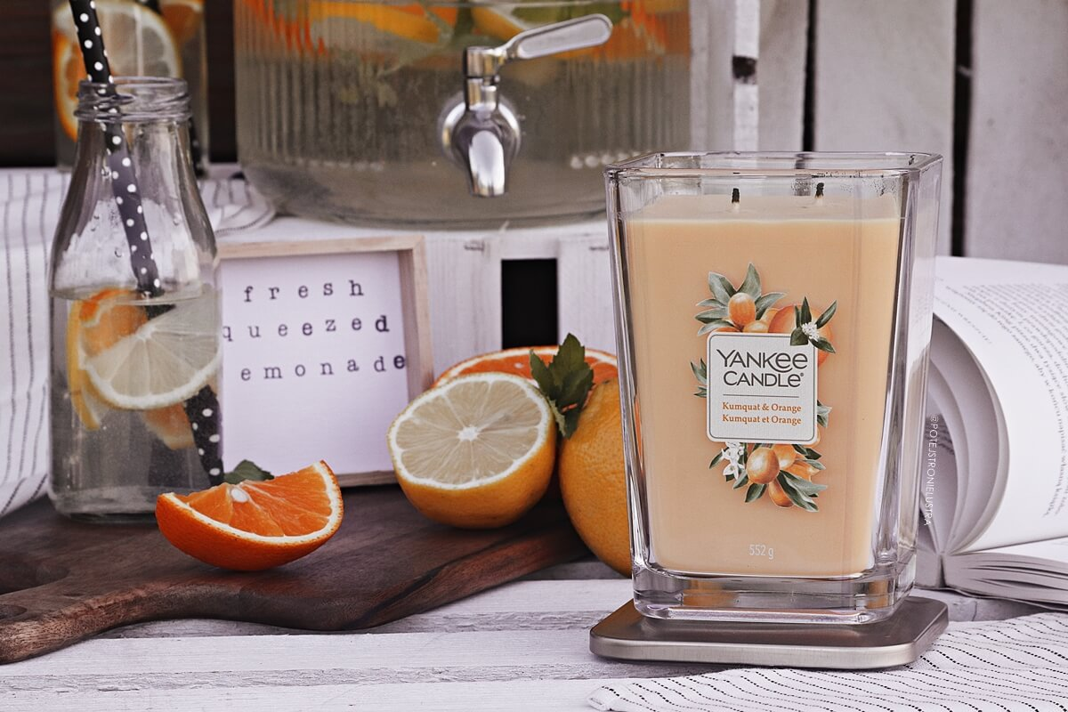 yankee candle kumquat & orange recenzja na blogu