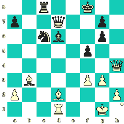 Les Blancs jouent et matent en 2 coups - Sergey Karjakin vs Anish Giri, Riga, 2019