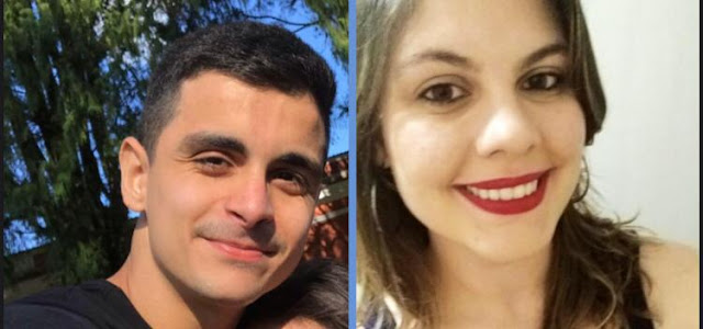 Os autores Bernardo Albuquerque e Laurine Abilhôa