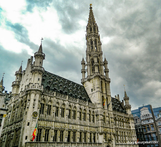 Grand Place de Bruxelas, Bélgica