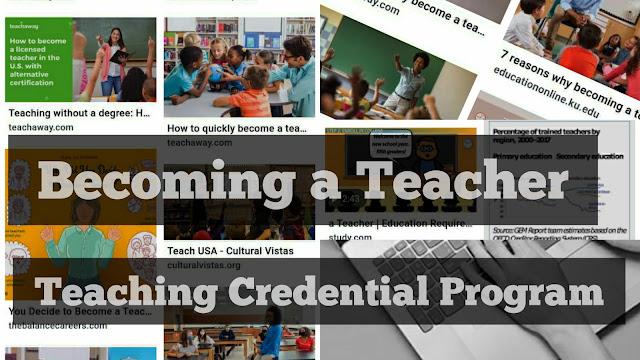California credential teaching program