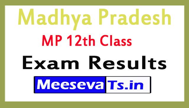 Madhya Pradesh Board MP 12th Class Exam Results 2019
