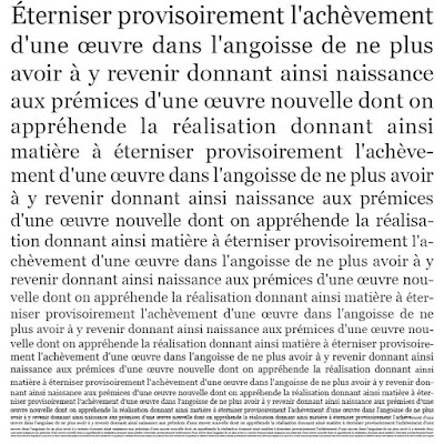 """Différamer"" Arabécédesque (OLIVIER GOLDSMITH)"