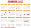 Kalender 2020: Daftar Hari Libur Nasional & Cuti Bersama di Tahun 2020 Berdasarkan SKB 3 Menteri No. 440/03/03/2020
