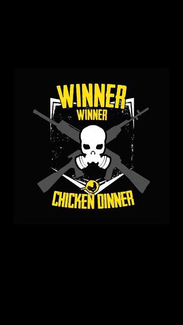 iPhone-BGMI-PUBG-Winner-Winner-Chicken-Dinner-Ultra-4K-HD-Wallpapers