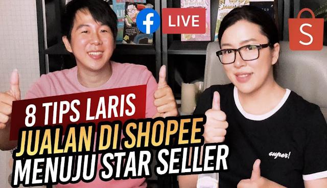 Tips Laris Sukses Jualan di Shopee Hingga Jadi Star Seller