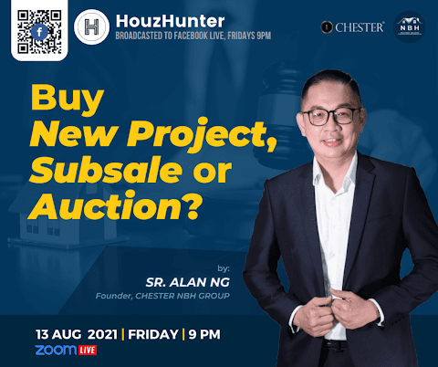 HouzHunter: Buy New Project, Subsale or Auction?