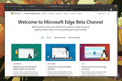 Menjalankan Microsoft Edge di Ubuntu Terbaru