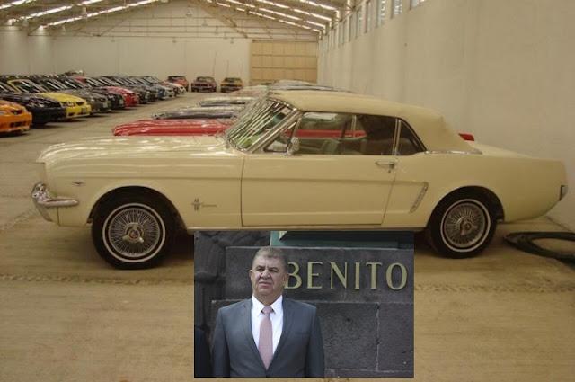 El rancho del hombre fuerte de Eruviel: 136 autos de colección, lago artificial marca Higa, Zoo...