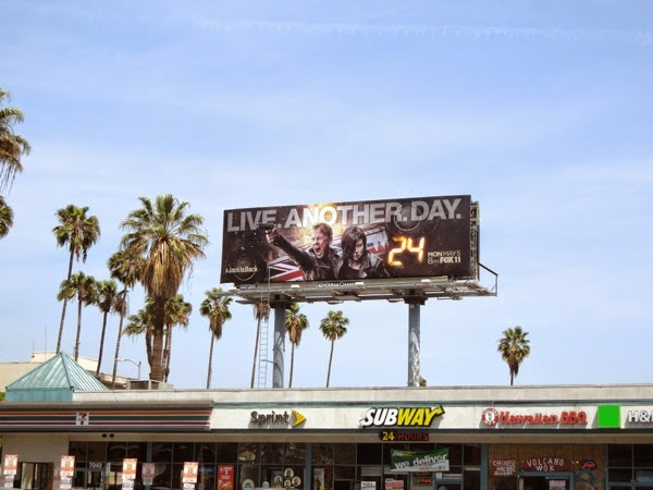 24 Live Another Day season 9 billboard