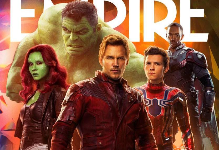 """Personagens de """"Vingadores: Guerra Infinita"""" estampam artes inéditas da Empire"""